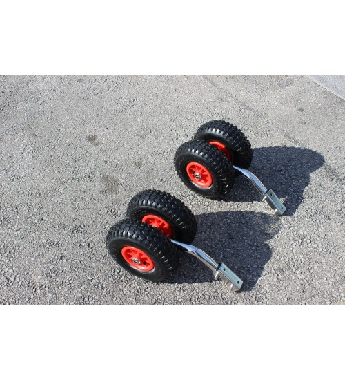 Stainless Steel Dingy Wheel ( Double Wheels)