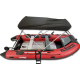 MA380 (12.5 feet) Fully Loaded Premium Inflatable Boat (Aluminum Floor)