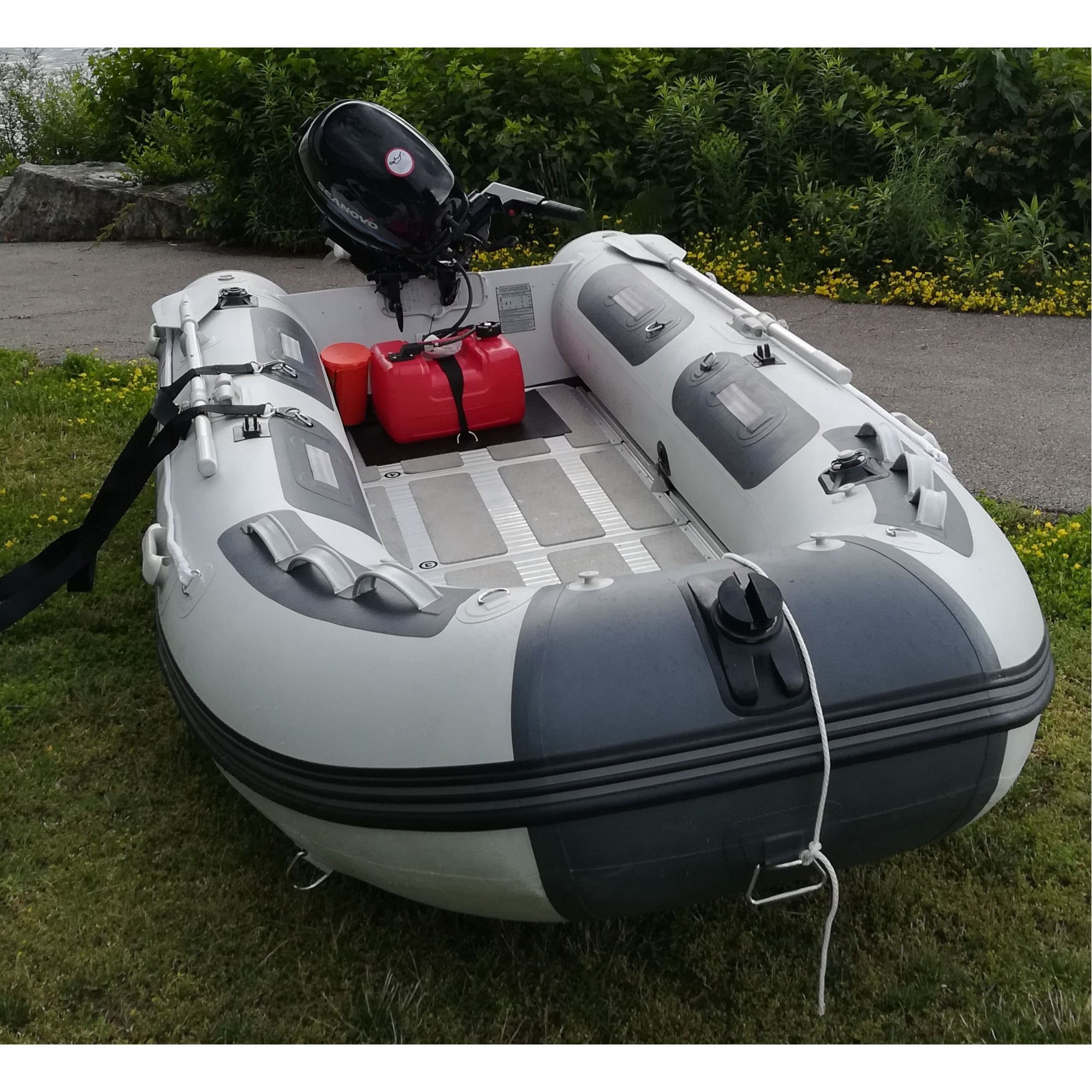 11 Ft Zodiac Type German Pvc Premium Inflatable Boat