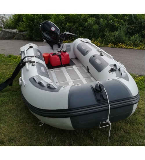 MA 270 (9 feet) Fully Loaded Premium Inflatable Boat ( Aluminum Floor )